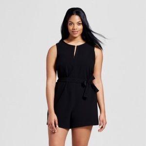Plus Size 3X Short Romper Victoria Beckham NEW
